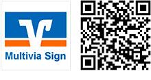 Multivia Sign App für iOS