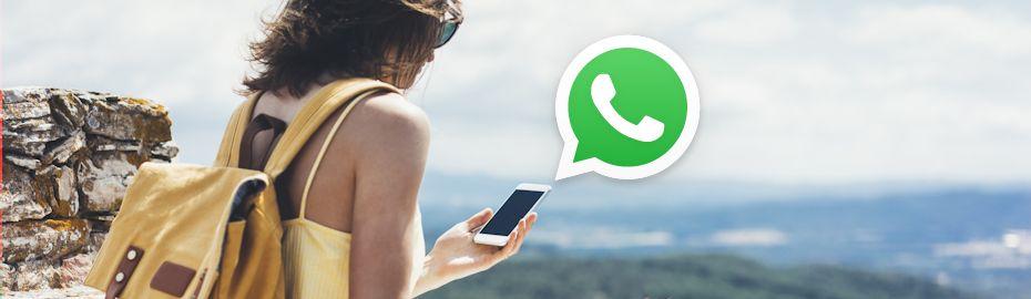 Kontakt per WhatsApp bei Ihrer Hamburger Volksbank