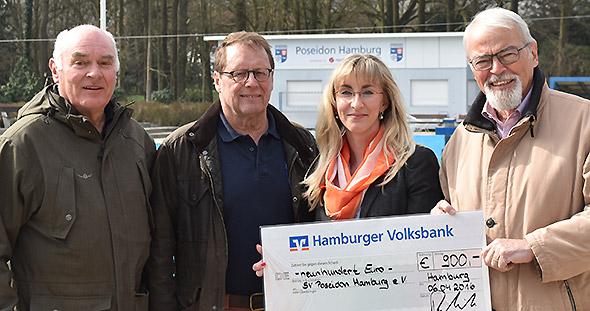 SV Poseidon Hamburg e.V. - Spendenübergabe