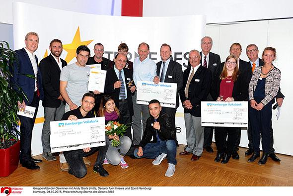 Preisverleihung Sterne des Sports 2016